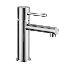 Serie SPIKE cromo miscelatore monocomando lavabo con scarico click-clack art. 6810