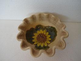Ciotola girasole H 6 cm., diametro 15 cm. (circa)