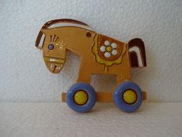 Cavallino da appendere H 6 cm., L 8 cm. (circa)