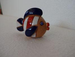 Pesciolino H 4 cm., L 5,5 cm., P 3 cm. (circa)