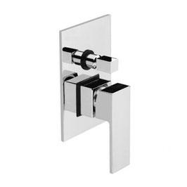 Serie MOVE cromo miscelatore monocomando incasso doccia con deviatore ceramico art. 9750