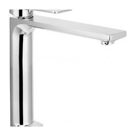 Serie MOVE cromo miscelatore monocomando lavabo alto con scarico clik-clak art. 9714