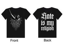 Buried In Black - Hate is my Religion - T-Shirt