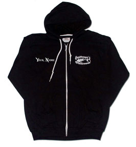 Ballroom / Headbangers - Hooded Zipper - Name Print