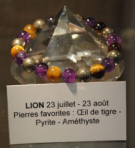 Bracelet signe du Lion