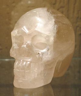 Crâne quartz fumé