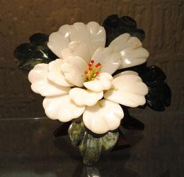 Magnifique fleur en Jade