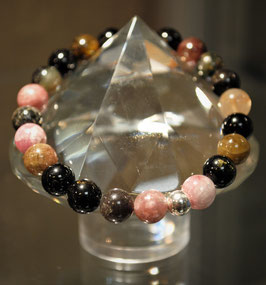 Bracelet Tourmaline multi-couleurs
