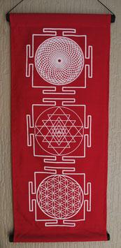 Bannière rouge