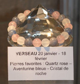 Bracelet signe du Verseau