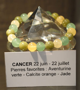 Bracelet signe du Cancer