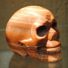 Crâne aragonite rouge