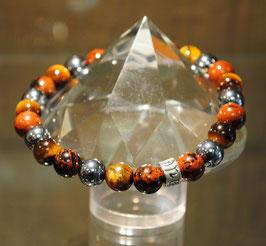 Bracelet Obsidienne brune - Tigre - Terahertz