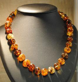 Magnifique collier Ambre