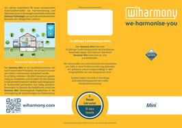 "Produktflyer ""harmony Mini"""