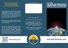 wiharmony Produktflyer