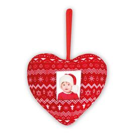 CHRISTMAS HEART 3.5x4.5