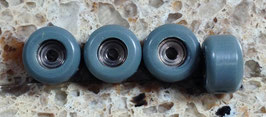 Pro-grade CNC Fingerboard Wheels, Grey