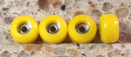 Pro-grade CNC Fingerboard Wheels Yellow
