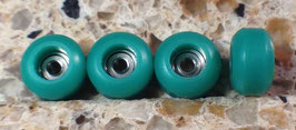 Pro-grade CNC Fingerboard Wheels Green