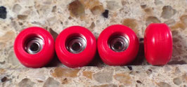 Pro-grade CNC Fingerboard Wheels Red