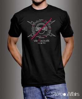 "Men-Shirt ""We Love Acoustic"""