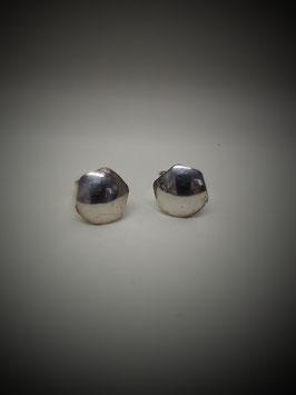 17/2018 Ohrsteckerpaar 925 Silber sechseckig