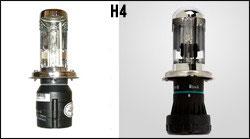 TypeBlue 交換用35W Hi/Lo切替式 HIDバルブ