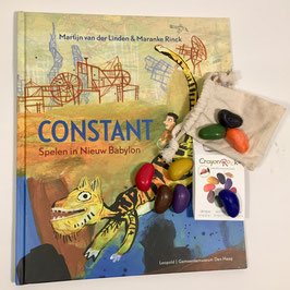 Boek Constant Spelen in Nieuw Babylon
