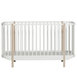 Oliver Furniture wood cot lit à barreaux