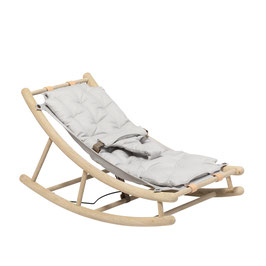 Oliver Furniture wood rocker oak/grey