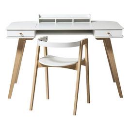 OLIVER FURNITURE wood bureau et chaise 66 cm