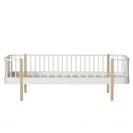 Oliver Furniture wood banquette