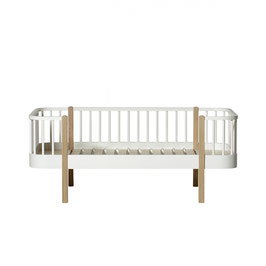 Oliver Furniture wood banquette junior