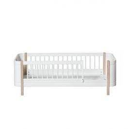 Oliver Furniture mini+ lit junior chêne/blanc 041465