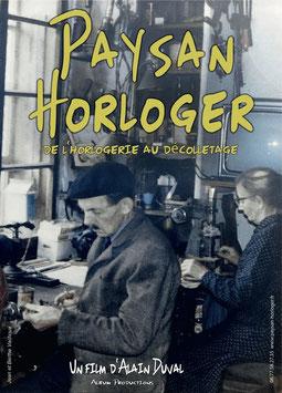 DVD ET LIVRET PAYSAN HORLOGER