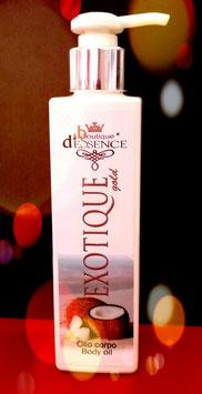 EXOTIQUE D'ESSENCE  200ml Body Oil  / Huile pour le Corps / Olio Corpo