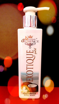EXOTIQUE D'ESSENCE 200ml Bath & Shower gel / Bain douche / Bagno Doccia