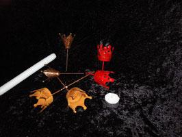 Kronen - Kerzenstecker
