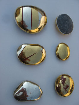 Rolling Gold Stone from the Rhein