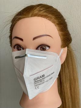 Atemschutz-/ Mundschutz Schutzmaske FFP2/KN95 - 95% Filterleistung, 10er Set