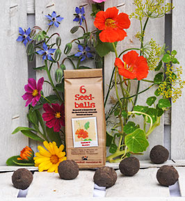 Seedballs Essbare Blüten 6er