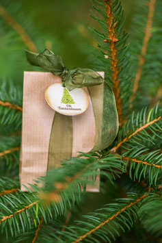 Weihnachts-Seedball mit Tannenbaum-Saatgut