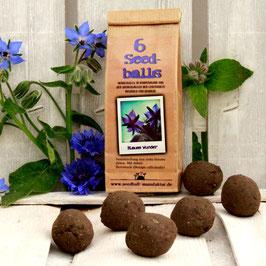 Seedballs Blaues Wunder 6er
