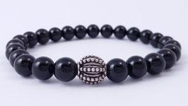 Herren-Armband aus Onyx * (HAB 10)