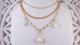 Halsketten aus Silber vergoldet (DHS 35)