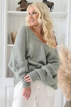 Pullover grün (P 3)