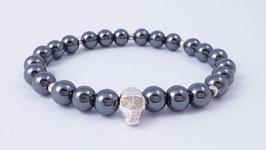 Herren-Armband aus Hämatit * (HAB 4)