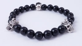 Herren-Armband aus Onyx * (HAB 1)