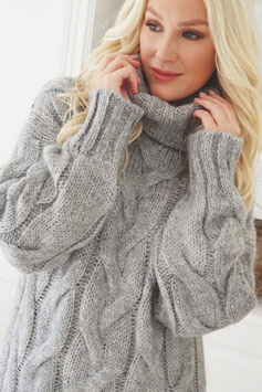 Pullover grau (P 11)